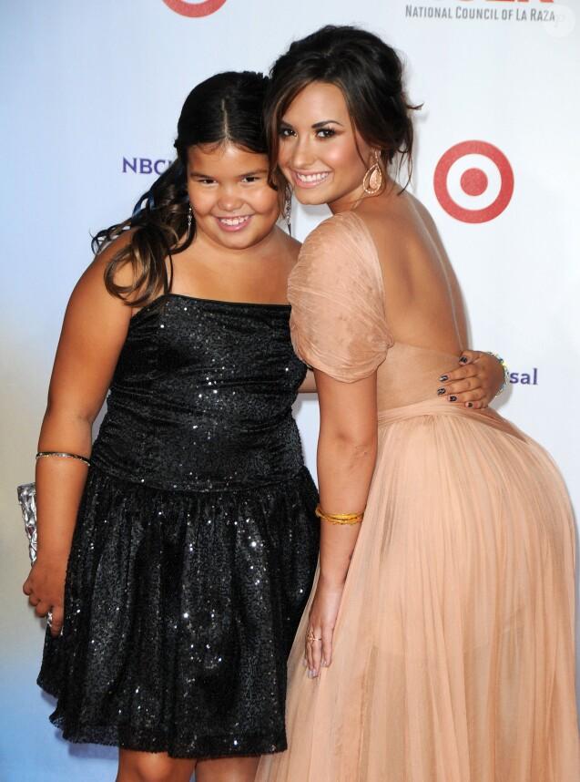 Demi Lovato et Madison De La Garza - Soirée 1 NCLR ALMA Awards à Santa Monica, Los Angeles, le 10 décembre 2010