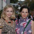 Sophie Simnett et Elaine Cassidy - 28e Festival du Film Britannique de Dinard le 28 Septembre 2017. © Denis Guignebourg/Bestimage