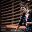 """Julie Gayet dans """"Rabbit Hole, Univers Parallèles"""" de David Lindsay-Abaire, mis en scène par Claudia Stavisky, au Théâtre des Célestins à Lyon jusqu'au 8 octobre 2017."""
