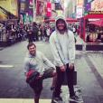 """""""Kev Adams à New York, le 3 septembre 2017."""""""