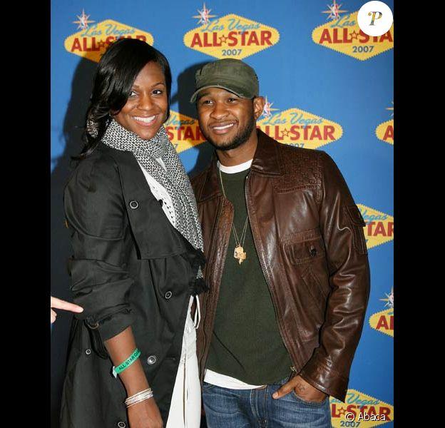 Usher et sa femme Tameka Raymond