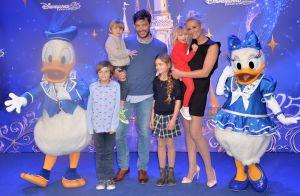Elodie Gossuin et les enfants :
