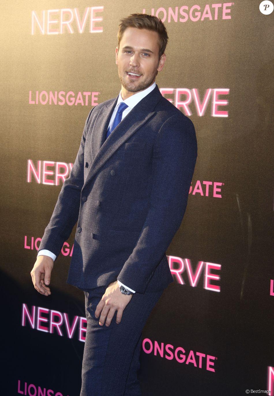Dan Amboyer à la première de 'Nerve' à New York, le 12 juillet 2016.