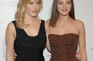 Marion Cotillard et Kate Winslet... deux stars magnifiques au top de l'élégance à L.A. !