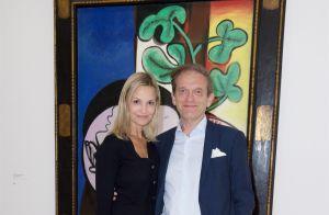 Joyce Jonathan bien accompagnée face à Claire Chazal au musée Picasso