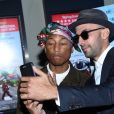 Pharrell Williams, JR à la première de 'Faces Places' au Pacific Design center à West Hollywood, le 11 octobre 2017 © Chris Delmas/Bestimage