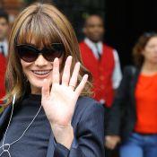 Carla Bruni explique son absence au mariage d'Olivier Sarkozy et Mary-Kate Olsen