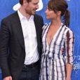 """Michael Fassbender et sa compagne Alicia Vikander lors du photocall du film """"The Light between ocean"""" lors du 73ème festival du film de Venise (Mostra), le 1er septembre 2016."""