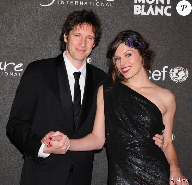 Milla Jovovich et son homme Paul Anderson, très chic à la soirée Montblanc ! 20/02/09