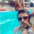 Joy Esther et son petit ami Andrea, Instagram, 2017