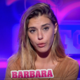 """Barbara lors de la quotidienne de ""Secret Story 11"", sur NT1 lundi 16 septembre 2017."""