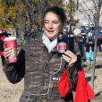 Shailene Woodley et Dave Matthews protestent contre le South Dakota Pipeline à Washington, le 27 novembre 2016