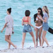 Olivia Culpo, Shanina Shaik... : Les bombes travaillent à la plage