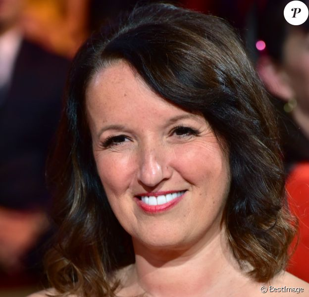 "Exclusif - Anne Roumanoff - Enregistrement de l'émission ""Le Plus Grand Cabaret du Monde"" à Paris, qui sera diffusée le 14 octobre sur France 2. Le 12 septembre 2017 © Giancarlo Gorassini / Bestimage"
