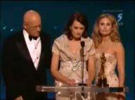 VIDEO : Angelina Jolie, Brad Pitt, Adrien Brody émus aux larmes en mémoire de Heath Ledger, regardez...