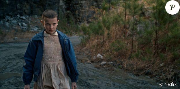 """Millie Bobby Brown est Eleven dans """"Stranger Sthings"""", ici dans la saison 1 proposée en juillet 2016 par Netflix."""
