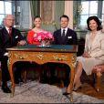 Vicotria de Suède est officiellement fiancée