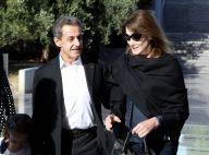 Carla et Nicolas Sarkozy heureux en famille: Leur balade avec Giulia et Aurélien