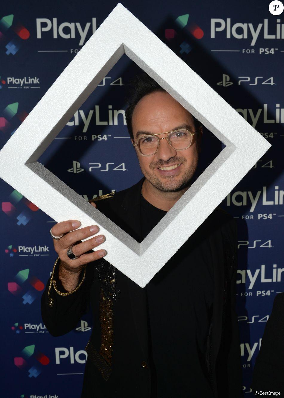 Jarry (Anthony Lambert) - Soirée de lancement de PlayLink de PlayStation au Play Link House à Paris, France, le 12 octobre 2017. © Veeren/Bestimage