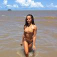 Alicia Aylies (Miss France 2017) le 29 octobre 2017 en Guyane.