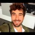 """""""Agustin Galiana dans """"DALS8"""" le 14 octobre 2017 sur TF1."""""""