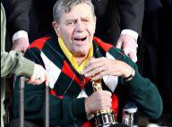 Jerry Lewis, récompensé pour son engagement humanitaire... jamais sans son Oscar !