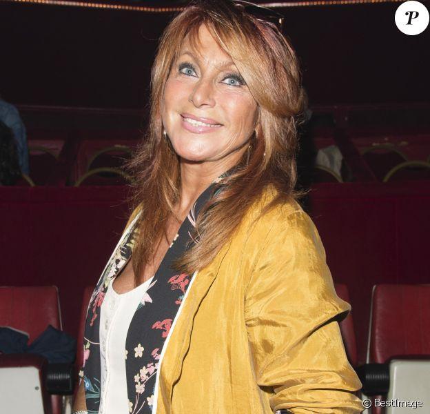 """Exclusif - Julie Pietri - La première du nouveau spectacle du Cirque d'Hiver Bouglione, """"Exploit"""" à Paris , le 15 octobre 2017."""