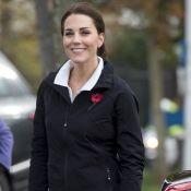 Kate Middleton enceinte : En forme et décontractée pour évoquer le prince George