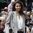 """Noura El Shwekh (compagne de J.-W. Tsonga) - Personnalités lors du tournoi de tennis """"Rolex Paris Masters 2017"""" à Paris, France, le 1er novembre 2017. © Veeren-Perusseau/Bestimage"""