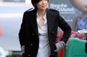 Katie Holmes, ses stylistes ne l'épargnent pas... question look ! Oh la la !