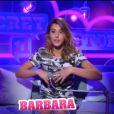 """Barbara - ""Secret Story 11"", jeudi 26 octobre 2017, NT1"""