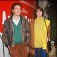 """Anny Duperey et Bernard Giraudeau à la première du film """"Angel Heart"""" le 31 mars 1987."""