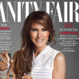 """""""Couverture de l'édition mexicaine de """"Vanity Fair""""avec Melania Trump, numéro de février 2017."""""""