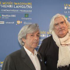 """Guest et le réalisateur Jean-Claude Brisseau - Vernissage de l'exposition """"Le musée imaginaire d'Henri Langlois"""" à la Cinémathèque de Paris. Le 7 avril 2014 07/04/2014 - Paris"""