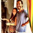 Florian Delavega et sa chérie Natalia Doco, sur Instagram, juillet 2016