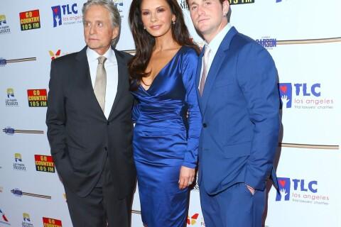 Michael Douglas, futur grand-père comblé avec sa femme et son fils Cameron