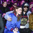 Juliette Maillot, Jared Leto et Charlotte Casiraghi assistent au défilé Gucci à la Fashion Week de Milan. Le 22 février 2017.