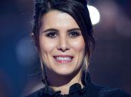 Karine Ferri pose en nuisette très décolletée : La photo sexy !
