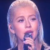 Christina Aguilera : Maquillage allégé et lèvres surgonflées aux AMAs !