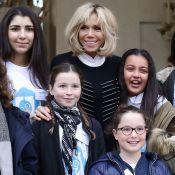 Brigitte et Emmanuel Macron entourés d'enfants : Journée joyeuse à l'Élysée