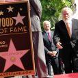 """Nick Nolte - L'acteur americain Nick Nolte reçoit son étoile sur le """"Walk of Fame"""" à Hollywood le 20 novembre 2017"""
