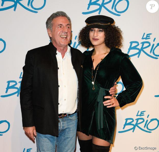 """Daniel Auteuil et Camélia Jordana - Avant-première du film """"Le Brio"""" au cinéma Gaumont Opéra à Paris, le 21 novembre 2017. © Coadic Guirec/Bestimage"""