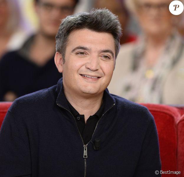 """Thomas Langmann - Enregistrement de l'émission """"Vivement Dimanche"""" à Paris le 02 Juin 2015"""