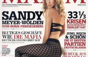 Sandy Meyer-Wölden : l'ex de Boris Becker va vous prendre dans ses filets (c'est tout ce qu'elle porte) !
