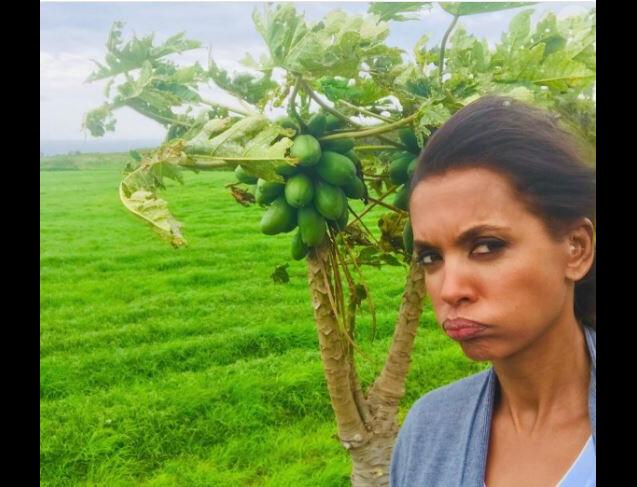 """Karine Le Marchand - tournage d'un portrait de """"L'amour est dans le pré 2018"""", M6"""