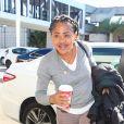 Exclusif - Doria Ragland, mère de Meghan Markle, à l'aéroport LAX de Los Angeles, le 23 décembre 2016.