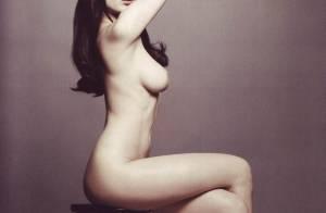 La jolie Daisy Lowe, sans rien sur elle... c'est vraiment très beau !