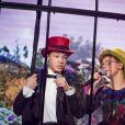 """Exclusif - Marco et Amandine - Enregistrement de l'émission """"Les Enfoirés Kids"""" au Zénith d'Aix, qui sera diffusée le 1er décembre sur TF1. Le 19 novembre 2017 © Cyril Moreau / Bestimage"""