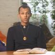 """""""Stromae témoignage dans le documentaire """"Malaria Business"""" pour l'émission """"Investigatiôns"""" que diffusera France Ô, le 29 novembre 2017."""""""