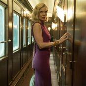 Michelle Pfeiffer, de l'Orient Express aux tapis rouges, toujours ultraglamour